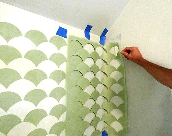 Corner stenciling tips - Stencil Stories Stencil Stories
