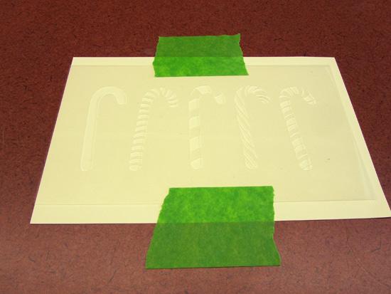 Card-stencils
