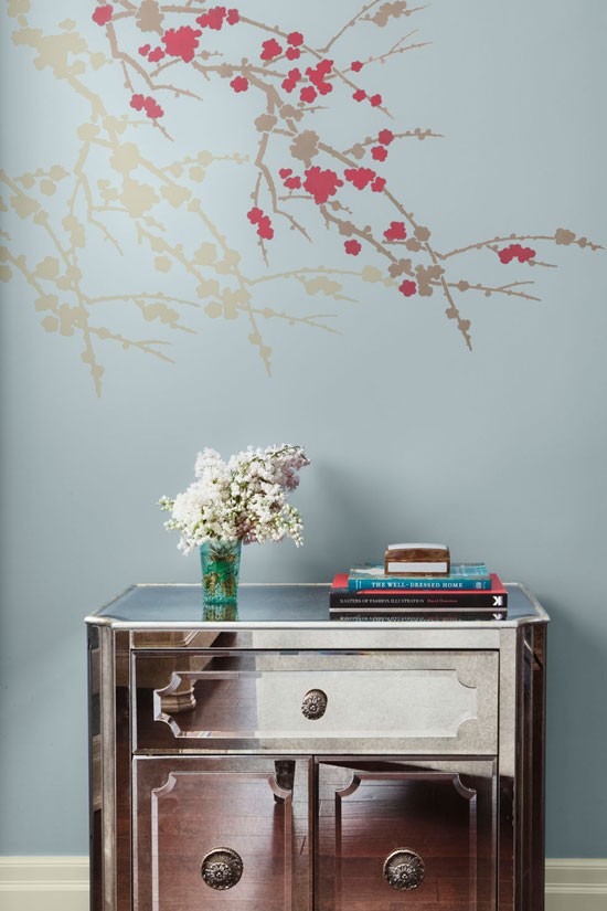 Stencil Color Trends 2012: Featuring Benjamin Moore