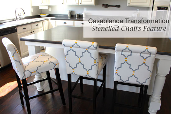 Cutting Edge Stencils Blog Feature: Casablanca Transformation