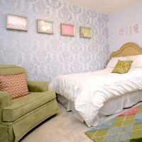 DIY Room Decorating with Stencils