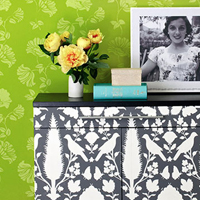 Cutting Edge Stencils Wall Stencil Feature in Oprah Magazine!