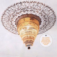 Cutting Edge Stencils' Ceiling Stencil Featured in This Old House Magazine!