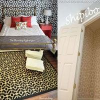 Shipibo Wall Stencils Transform your Room!