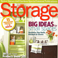 """""""Storage"""" Magazine Features Stenciled Rooms!"""