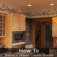 How To Video: Stenciling A Border