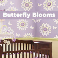 Butterfly Wall Painting Stencils Fly onto your Decorative Walls