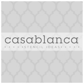 Ten amazing ideas for transforming your home decor with one of our most popular Moroccan stencils, the Casablanca Stencil.