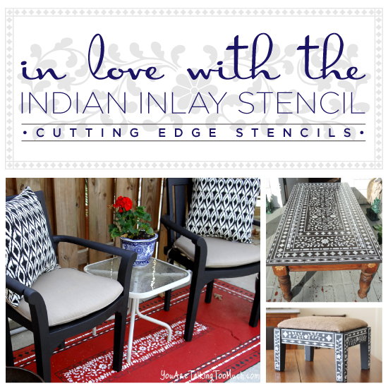 Are You In Love With The Indian Inlay Stencil?