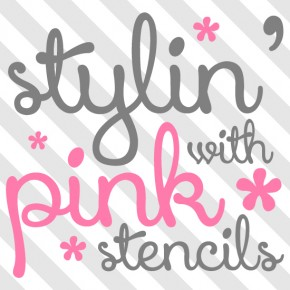 Wall Stencils add the perfect touch to Pink Girls Rooms! www.cuttingedgestencils.com