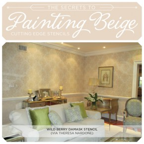 The Secrets to Painting Beige...