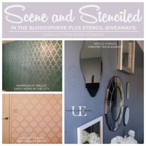 Scene and Stenciled In the Blogosphere Plus Stencil Giveaways!
