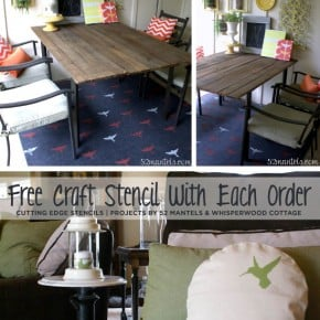 Free Craft Stencil with Each Order
