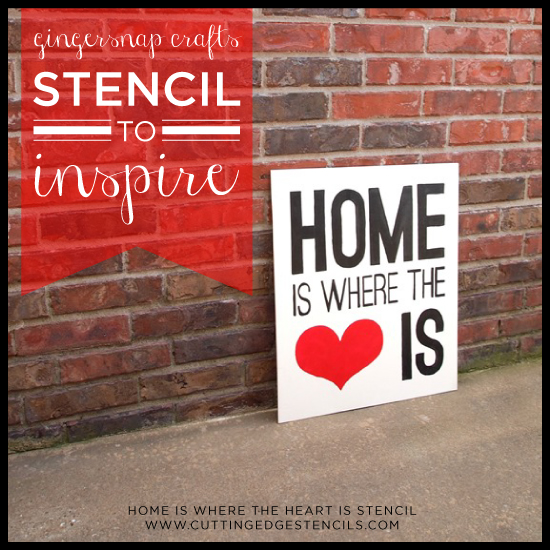It S Model Home Monday And We Re Loving This Look At: Stenciling To Inspire