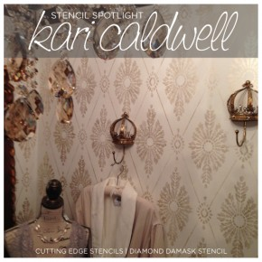 Stencil Spotlight: Kari Caldwell, A Decorative Painter