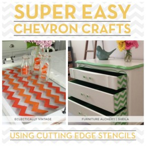 Seven Super Easy Chevron Crafts