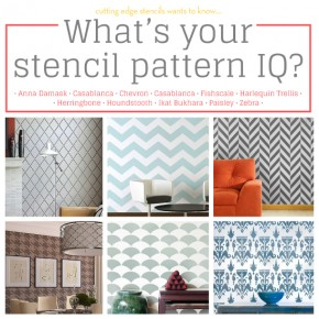 What's your Stencil Pattern IQ?