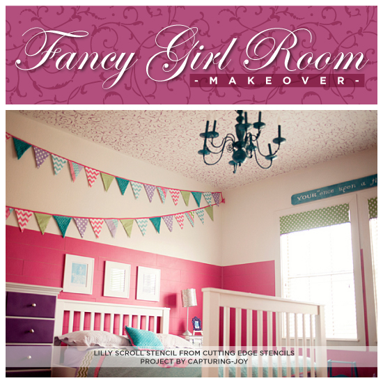 Fancy Girl Room Makeover