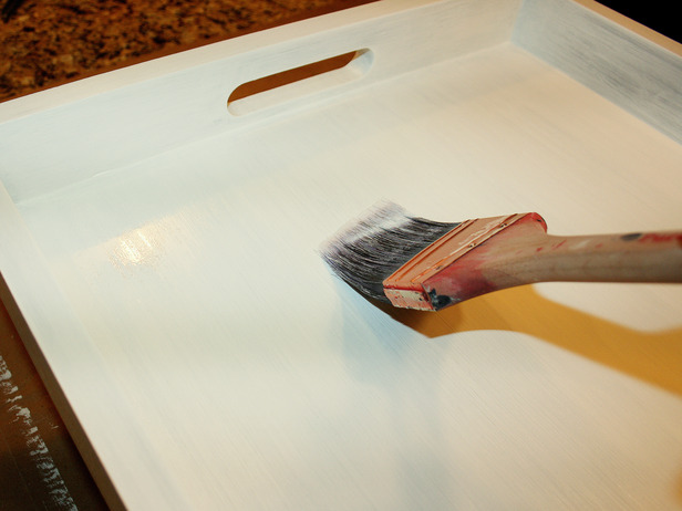 Trellis Allover Stenciled Diy Tray Stencil Stories
