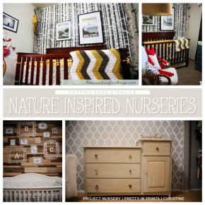 Stenciling A Nature-Inspired Nursery