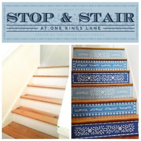 Stop & Stair At One Kings Lane