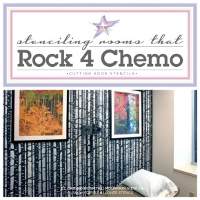 Rooms that Rock 4 Chemo stenciled hospital rooms that use Cutting Edge Stencils. http://www.cuttingedgestencils.com/wall-stencils-stencil-designs.html