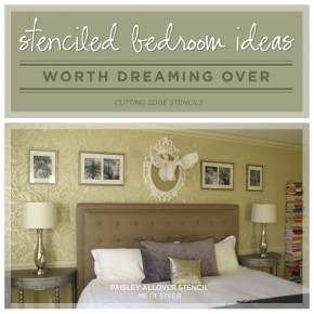 Stenciled Bedroom Ideas Worth Dreaming Over