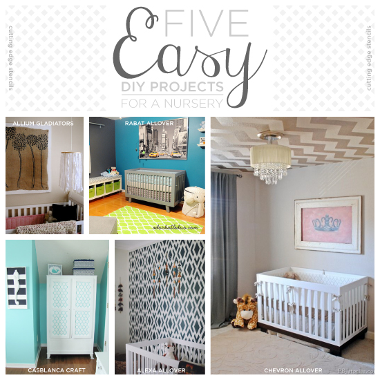 easy diy projects for nursery