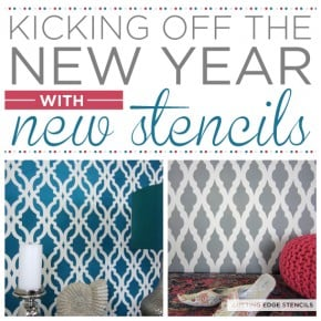 Cutting Edge Stencils introduces NEW wall stencil designs! http://www.cuttingedgestencils.com/wall-stencils-stencil-designs.htm