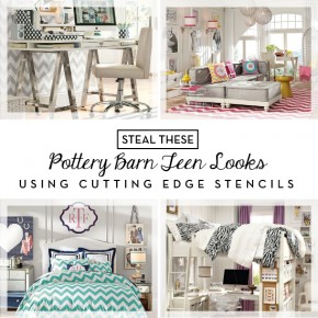 Steal These Pottery Barn Teen Looks Using Stencils
