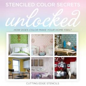 Stenciled Color Secrets Unlocked