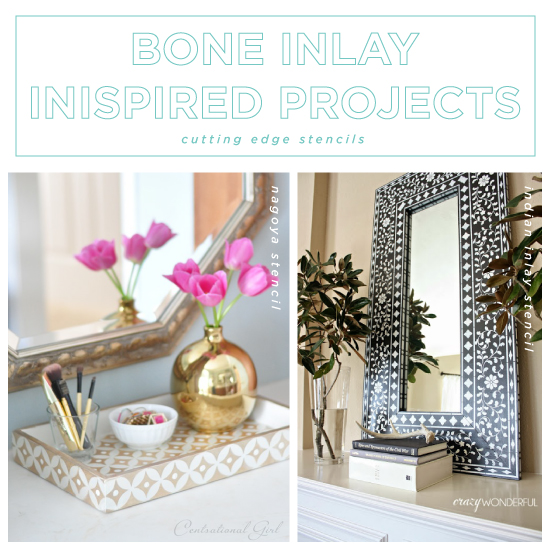 Home Design Ideas Blog: Bone Inlay Inspired Projects