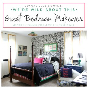 We're Wild About This Guest Bedroom Makeover