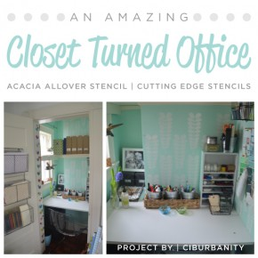 An Amazing Closet Turned Office
