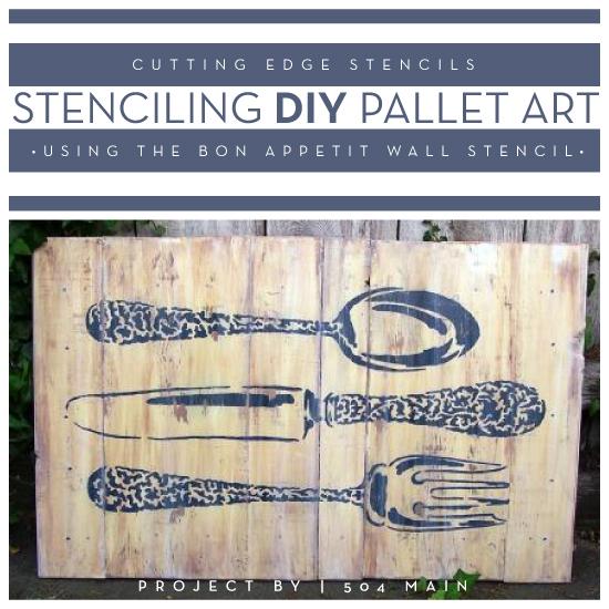 Diy Kitchen Wall Art\' Articles at Stencil Stories