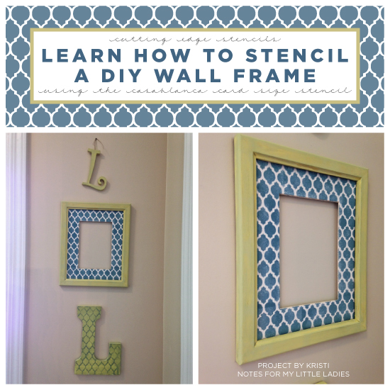 DIY Wall Art Projects Using Stencils
