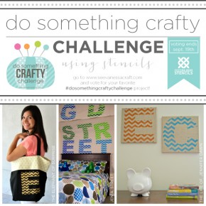 Do Something Crafty Challenge Using Stencils