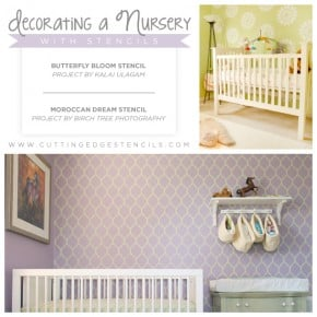 Decorate A Nursery With Stencils