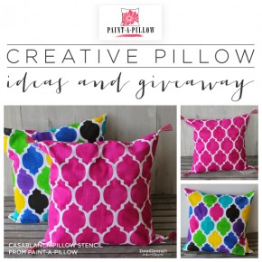 Creative Pillow Ideas and Giveaway