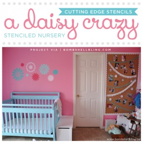 A Daisy Crazy Stenciled Nursery