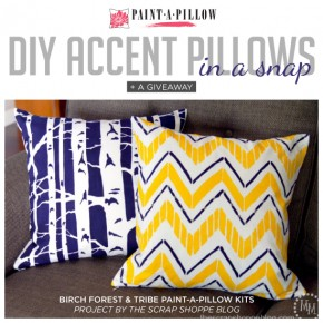 DIY Accent Pillows In A Snap + A Giveaway