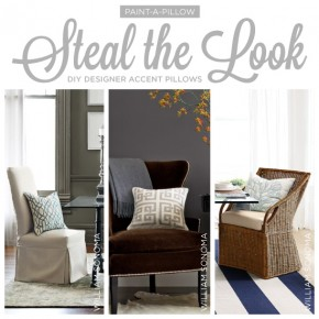Steal the Look: DIY Designer Accent Pillows