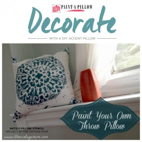 Decorate With A DIY Accent Pillow