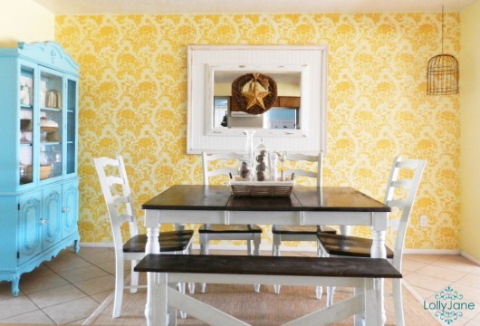 6 Decorating Ideas Using the Julia Stencil - Stencil Stories Stencil ...