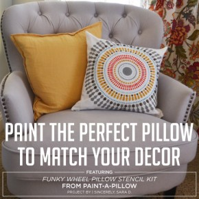 Paint The Perfect Pillow To Match Your Decor