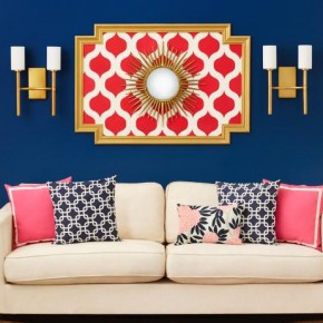 HGTV Magazine Decorates With Stencils
