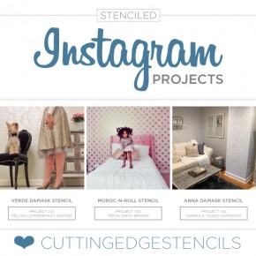 Stenciled Instagram Projects