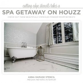 Cutting Edge Stencils Takes A Spa Getaway On Houzz