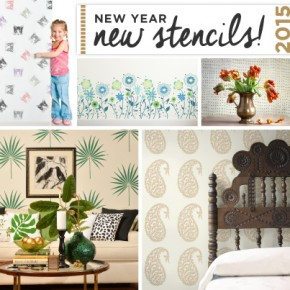 Cutting Edge Stencils launches new trendy stencil patterns. http://www.cuttingedgestencils.com/wall-stencils-stencil-designs.html