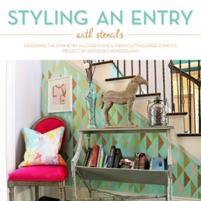 Styling an Entry With The Symmetry Stencil